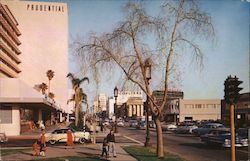 Miracle Mile Los Angeles Postcard