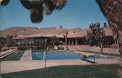 Apple Valley Inn Pool Postcard