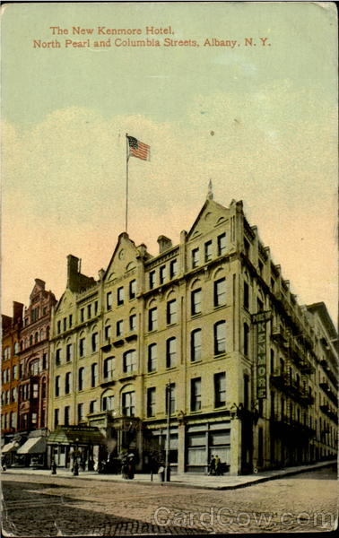 The New Kenmore Hotel, North Pearl And Columbia Streets Albany New York