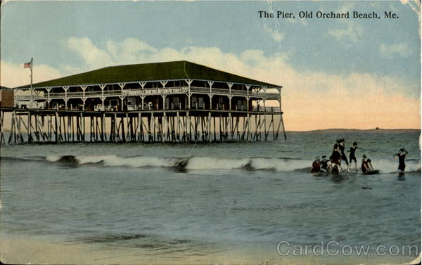 The Pier Orchard Beach Maine