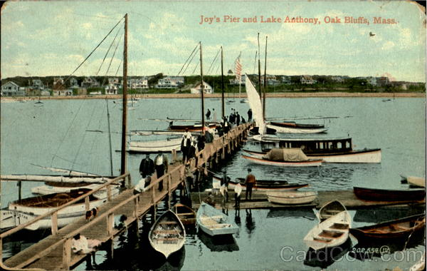 Joy's Pier And Lake Anthony Oak Bluffs Massachusetts