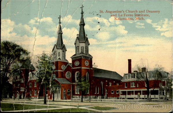 St. Augustine's Church And Deanery And Le Fevre Institute Kalamazoo Michigan