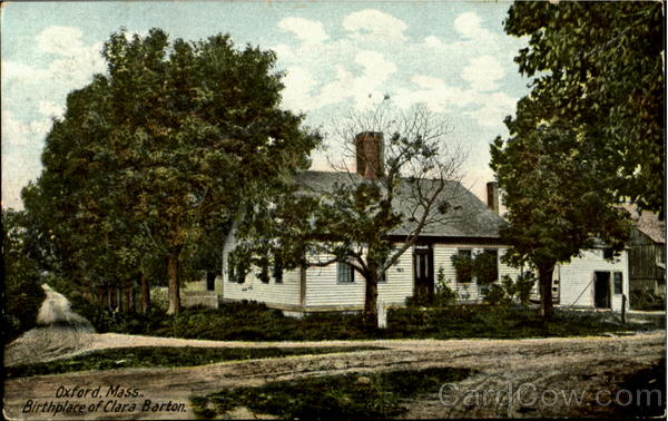 Birthplace Of Clara Barton Oxford Massachusetts