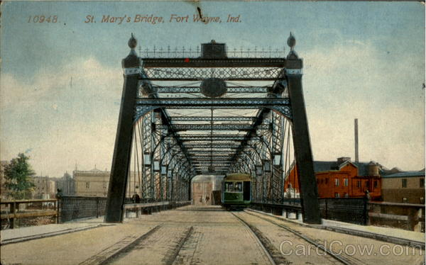 St. Mary's Bridge Fort Wayne Indiana