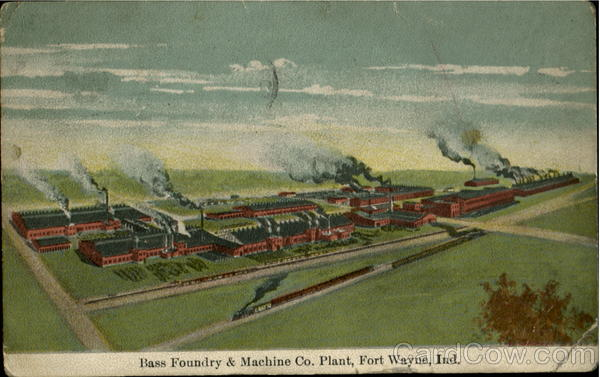 Bass Foundry & Machine Co. Fort Wayne Indiana