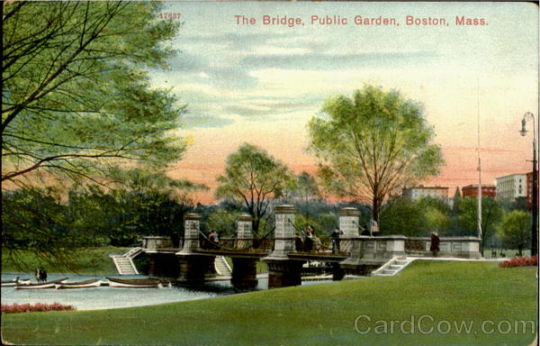 The Bridge , Public Garden Boston Massachusetts