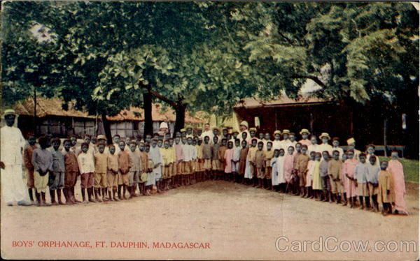 Boys Orphanage Ft. Daupphin Madagascar Africa