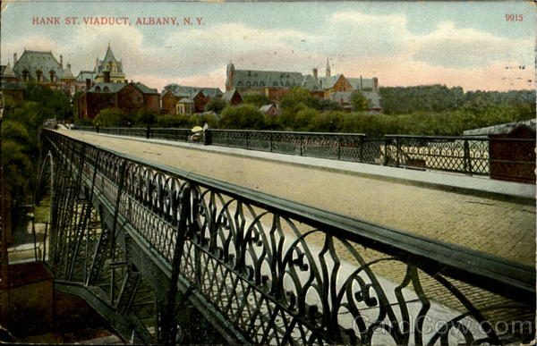 Hank St. Viaduct Albany New York