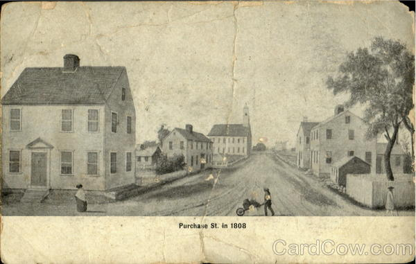 Purchase St. in 1808 Miscellaneous