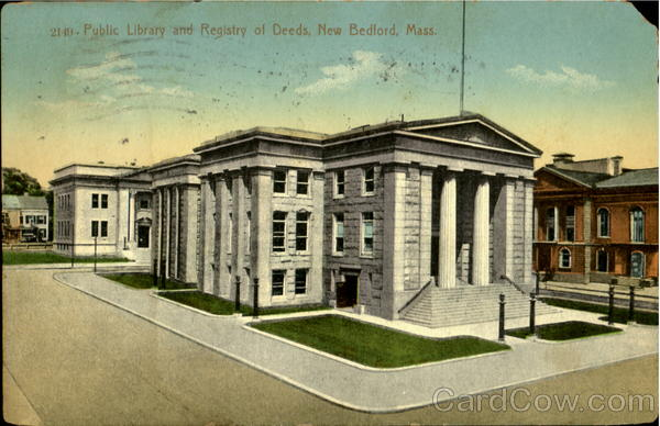 Public Library And Registry Of Deeds New Bedford Massachusetts