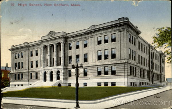 High School New Bedford Massachusetts