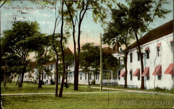The White House Cedar Point Ohio
