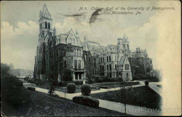 College Hall , University Of Pennsylvania Philadelphia