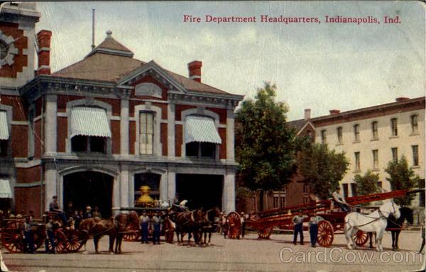 Fire Department Headquarters Indianapolis