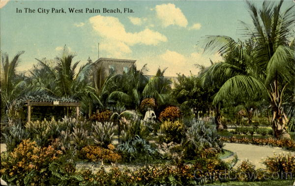 In The City Park West Palm Beach Florida
