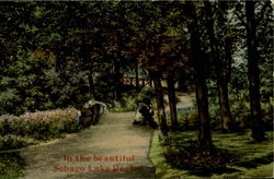 In The Beautiful Sebago Lake Region Postcard