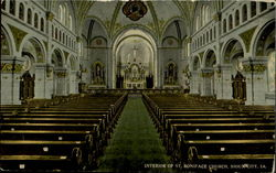 Interior Of St. Boniface Church