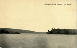 Sand Bar Little Sebago Lake