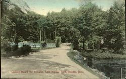 Looking Toward The Entrance, Lake Nipmuc Park