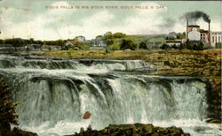 Sioux Falls In Big Sioux River