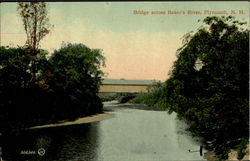 Bridge Across Baker's River Postcard
