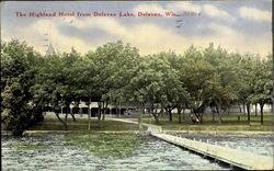 The Highland Hotel From Delavan Lake