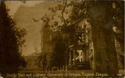 Deady Hall And Library, University Of Oregon