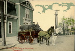 Horse Co.,, No. 20 House on Manton Ave