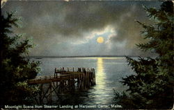 Moonlight Scene From Steamer Landing