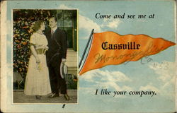 Come To See Me At Cassville Postcard