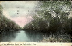 On The Minnesota River Postcard