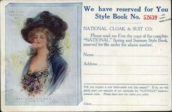 1910 Fashion Catalog Advertisement