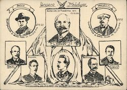 Martyrs of Socialism Postcard