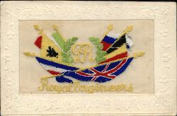 Embroidered Silk Royal Engineers Flags