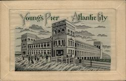 Young's Pier Postcard