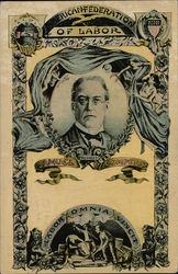 President of American Federation of Labor Samuel Gompers