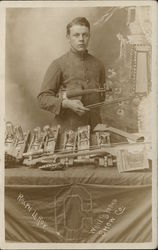 Ralph Le Roy with Violin Musical Instruments Parts