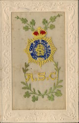 Embroidered Silk ASC Badge