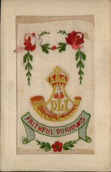 Embroidered Silk Durhams Novelty
