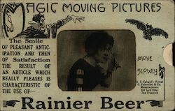 Rainier Beer Moving Picture Novelty