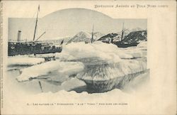 Arctic Andree Expedition 1897 Steamship in Winter