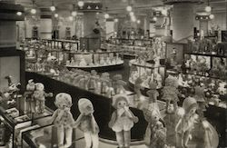 Marshall Field & Company Main Retail Store View in Toy Section