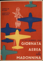 Airplanes & Air Day 1948 Statue Italian