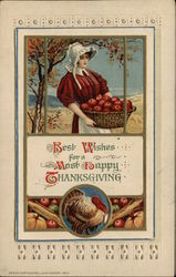 Turkey Corn Novelty Postcard