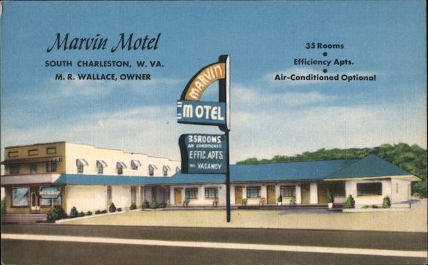 Marvin Motel, South Charleston, W. Va. West Virginia