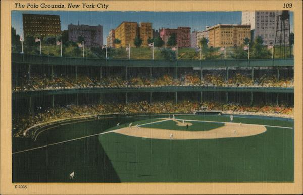 The Polo Grounds New York City Baseball