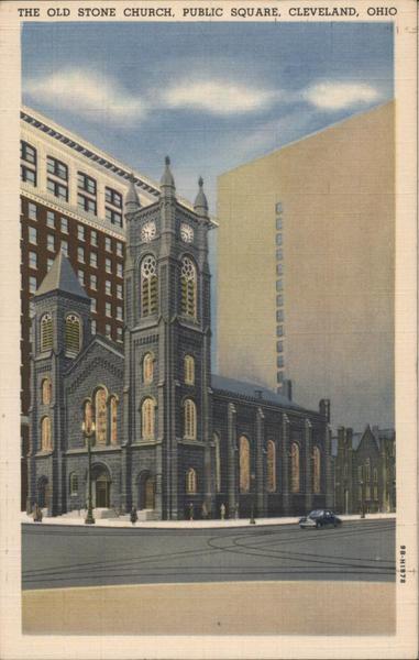 The Old Stone Church, Public Square Cleveland Ohio