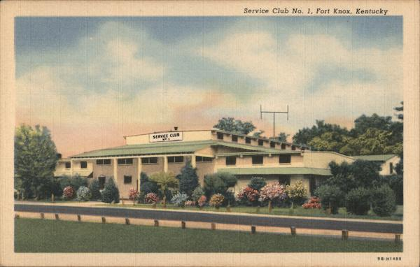 Service Club No. 1 Fort Knox Kentucky