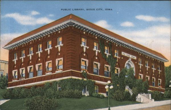 Public Library Sioux City Iowa