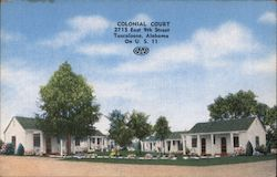 Colonial Court Postcard